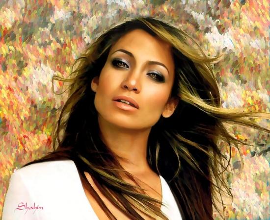 Jennifer Lopez por shahin
